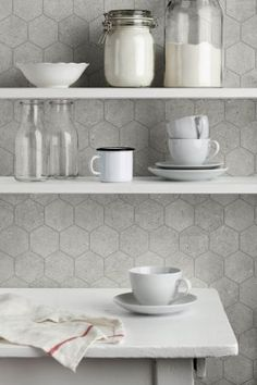Pietra Purbeck Tile Wall