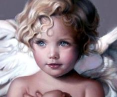 Angel Child by Nancy Noel a wonderful painting that has such emotion