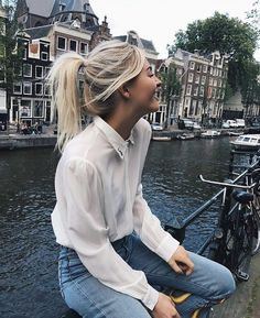 41 Ideas for travel clothes women europe summer fashion Paris Outfits, Europe Outfits, Vacation Outfits, Mode Outfits, Fashion Outfits, Fashion Clothes, Travel Outfit Summer, Summer Outfits, Summer Clothes