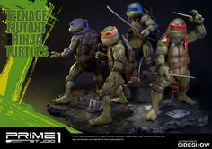 TMNT Teenage Mutant Ninja Turtles Polystone Statue by Prime | Sideshow Collectibles