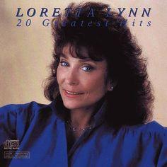 Loretta Lynn  Age 55, 1987 http://www.covershut.com/cover-tags/Loretta-Lynn-20-Greatest-Hits.html