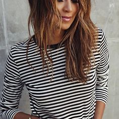 22.04.17 Our good ol' striped tee.  @shop_sincerelyjules shopsincerelyjules.com