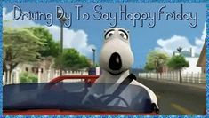 Driving by to say Happy Friday animated weekend friday happy friday tgif friday…