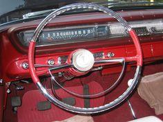 '61 Pontiac  Rebuilt/restored steering wheel, $1,400!!