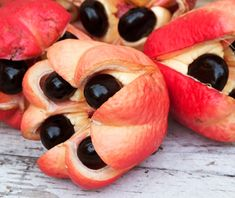 Ackee Related to the lychee and a native of tropical West Africa, ackee was imported to Jamaica in the 1700s and made a big impression; ackee and saltfish is Jamaica's national dish.