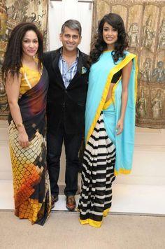 Masaba Gupta, Sanjay Kapoor and Sarah-Jane Dias Steampunk Fashion, Gothic Fashion, Indian Fashion, Emo Fashion, Gothic Corset, Gothic Lolita, Girls Dresses, Prom Dresses, Corset Dresses