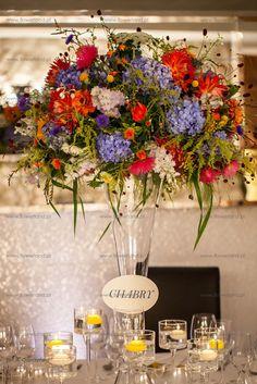 centerpieces table decoration colourful