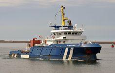 http://koopvaardij.blogspot.nl/2017/07/6-juli-2017-aankomst-ijmuiden-onderweg.html    GLOMAR LINDE  Bouwjaar 2012, imonummer 9608776, grt 628  Manager GloMar Shipmanagement B.V., Den Helder