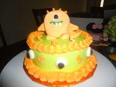 Monster cake - cute for smash cake