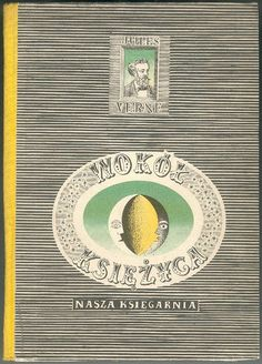 D. Mroz, cover for Polish Jules Verne book, 1958 by 50 Watts, via Flickr