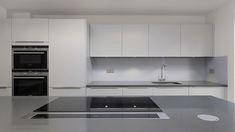 Kitchen Shelves, Kitchen Cabinets, Kitchen Interior, Kitchen Design, Ikea, Subway Tile Kitchen, Cork Flooring, Commercial Kitchen, Designer