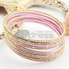 http://www.thdress.com/The-pink-11-laps-alloy-bracelet-p13725.html