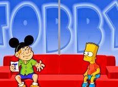 Galdino Saquarema Humor: Tobby Entrevista Bart Simpson