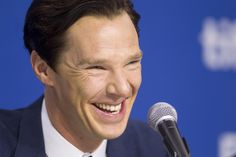 Cumberbatchweb — deareje: new tab for high res. The Fifth Estate press con 9/2013