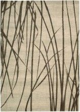 Rug With Tall Grass Pattern By Calvin Klein