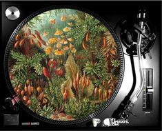Vintage jungle slipmat dj turntable music gifts musicians art   Etsy Vinyl Record Collection, Music Gifts, Eye Make, Wood Veneer, Turntable, Timeless Design, Dj, Flora, Musicians