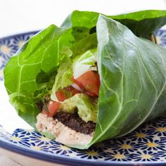 Hummus and Veggie Lettuce Wraps www.womenshealthm...