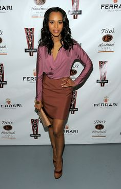 Kerry Washington Photo - 2010 Lucille Lortel Awards Benefit - Arrivals