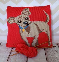 Knitting Pattern PDF Download Chihuahua Pet by Rubyandthefoxes
