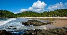 BRAZIL HAS SOME CRAZY BEACHES: Prainha bea, Brazil