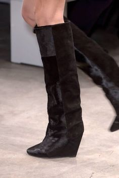 2015 Isabel Marant wedges knee high boots