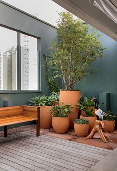 Indoor Gardens For Your Home Terrace Garden, Indoor Garden, Indoor Plants, Outdoor Gardens, Home And Garden, Indoor Balcony, Pot Plants, Garden Pool, Garden Beds
