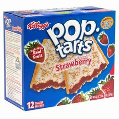 Boy, Josh Welch, Suspended for Shaping His POP-TART Into a Gun --> No one was threatened or harmed by the pastry. --> For the record, Joshua says he was trying to shape it in to a 'mountain'.the teacher decided it looked like a 'gun. Pop Tart Flavors, Strawberry Frosting, Strawberry Blueberry, Strawberry Fields, Top Secret Recipes, Valeur Nutritive, Breakfast On The Go, Perfect Breakfast, Fruit Tart