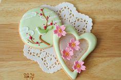 Spring bloom cookies    展示用アイシングクッキーの画像 | おうちパティシエへの一本道