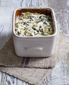 Baked Spinach and Artichoke Dip | Relish.com