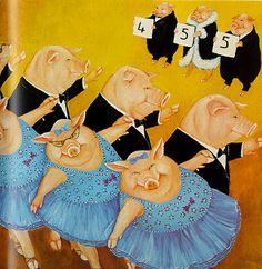 """From Beryl Cook's """"Come Dancing"""""""
