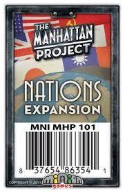Manhattan Projects Nations (+2) - uitbreiding