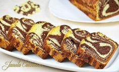 Chec pufos cu cacao - reteta video | JamilaCuisine