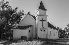 https://flic.kr/p/L5SU63 | Community Church_BW