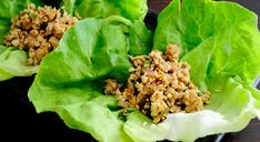 Asian Fusion Girl's Easy Chicken Lettuce Wraps recipe brings an old classic to life with bright flavors and is done in just minutes.