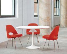 Modern Style Knoll Saarinen Round Dining Table Top