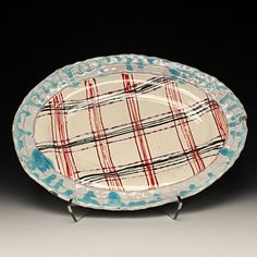 Image result for plaid inlay in ceramic