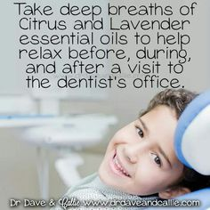 Little one going to the dentist? Try this!