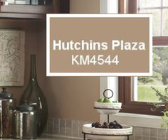 Sophisticated Artisan | Hutchins Plaza KM4544 Richly Complements This  Kitchenu0027s Cabinetry And Stainless, A Look Embraced In Todayu0027s Homes.  #PaintColors