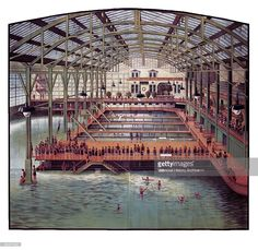 The Sutro Baths, a large, privately owned swimming pool complex near Seal Rock in San Francisco, California, built in the late 19th century, 1910.