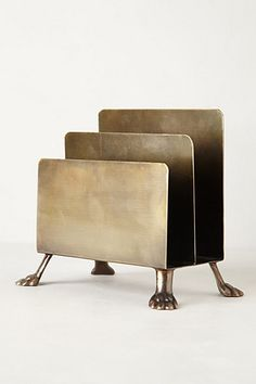 bronze footed mail sorter