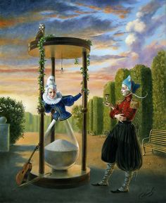 Time Difference by Michael Cheval