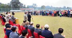 나라들사이의 친선과 우의를 보다 두터이한 외교단체육경기-《조선의 오늘》