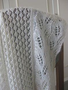 Free Pattern: Wedding Shawl by Plymouth Yarn Design Studio
