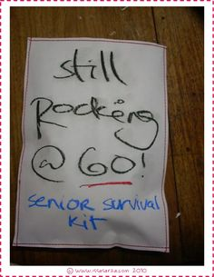senior citizen survival kit 6