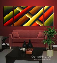 Modern abstract paintings on canvas. Think Outside the Box is a hand-painted artwork, created by the artist Osnat Tzadok. An online art gallery of modern paintings - artwork id Modern Canvas Art, Modern Artwork, Abstract Drawings, Abstract Art, Namaste Art, Modern Art Movements, Acrylic Painting Techniques, Beginner Painting, Mosaic Art