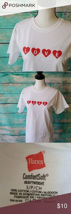"Valentine's Day ""❤LOVE❤"" 🔸️NWOT   🔸️Unisex T Shirt Model Shirts Tees - Short Sleeve"