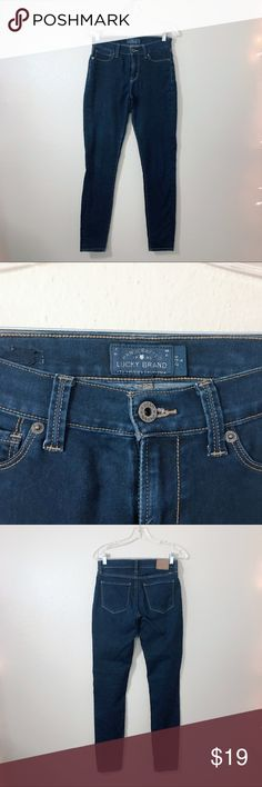 Lucky Brand Jeans Cute Lucky Brand skinnies. Normal wear, but no holes or stains. Fair condition. Lucky Brand Jeans Skinny