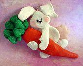*POLYMER CLAY ~  Milestone Ornament Bunny Rabbit Carrot Car 1st Birthday Christmas Easter Cake Topper.