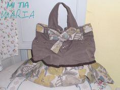 Mi tia María: La Mari costurera: De pantalón infantil a bolso de labores