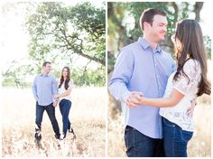 Engagement Portrait | couple dancing together as they have their photos taken by TréCreative